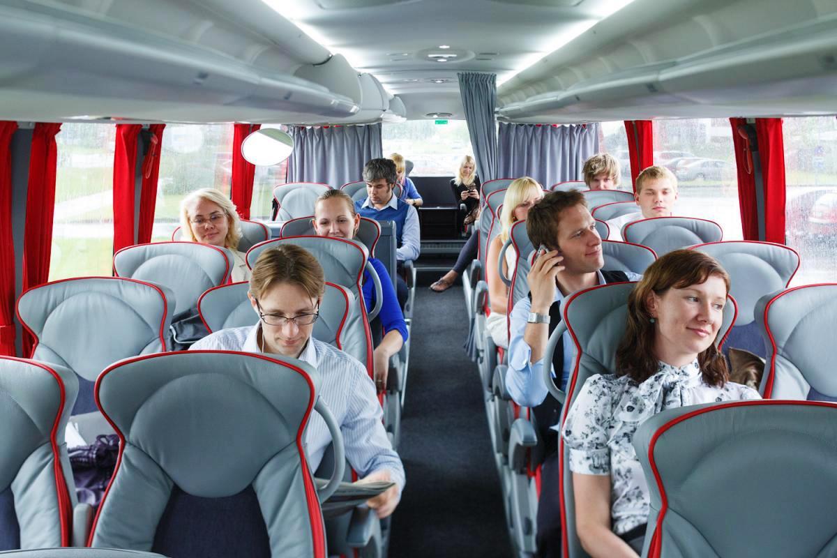 Правила пассажиров автобуса